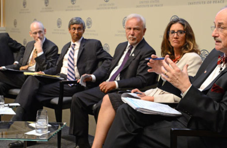 USIP Hosts International Gathering on Water Security and Conflict Prevention