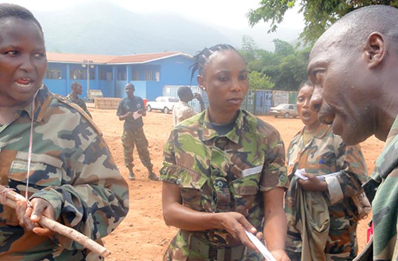Sierra Leone Sends Women Peacekeepers to Somalia