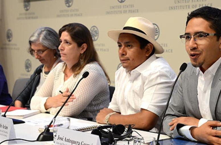 Colombia's War Survivors Appeal for U.S. Support, Responsibility