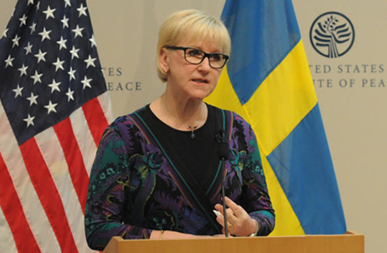 Sweden's Foreign Minister Explains Feminist Foreign Policy
