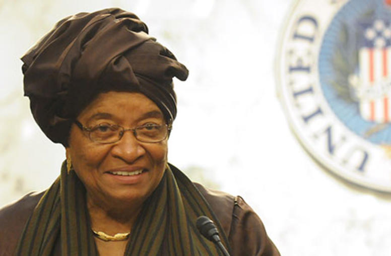 Liberia's President Thanks U.S. for Helping Control Ebola Epidemic
