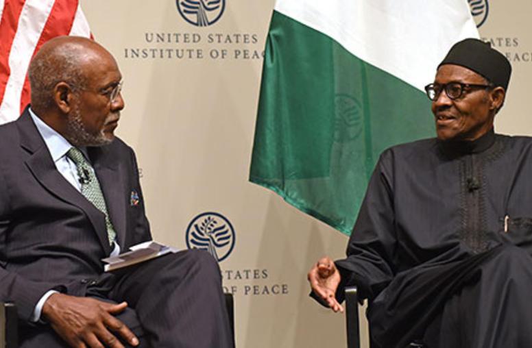 Nigeria's Buhari Presses for Military Aid, Pledges 'Zero Tolerance' for Corruption
