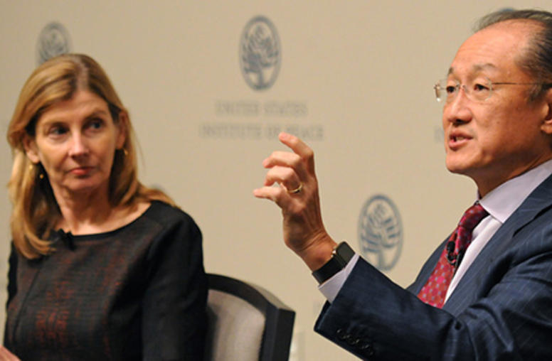 World Bank Chief Urges End to Extreme Poverty, Rethink for Development in Conflict Zones