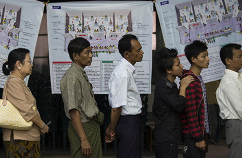 Q&A: Myanmar Voters Cast Ballots for Democracy