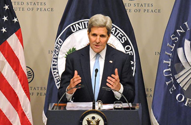Secretary Kerry Addresses U.S. Strategy in Syria