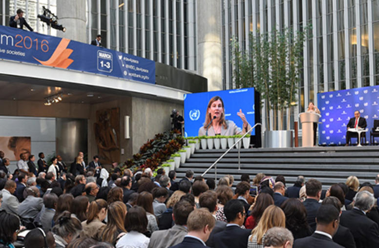 Fragile States Require Unified Response, Lindborg Says