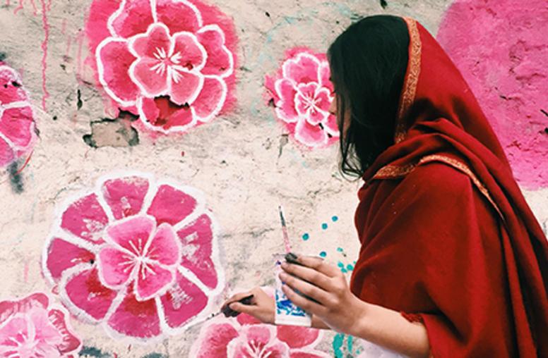 In Pakistan, Women Combat Gender Violence through Art