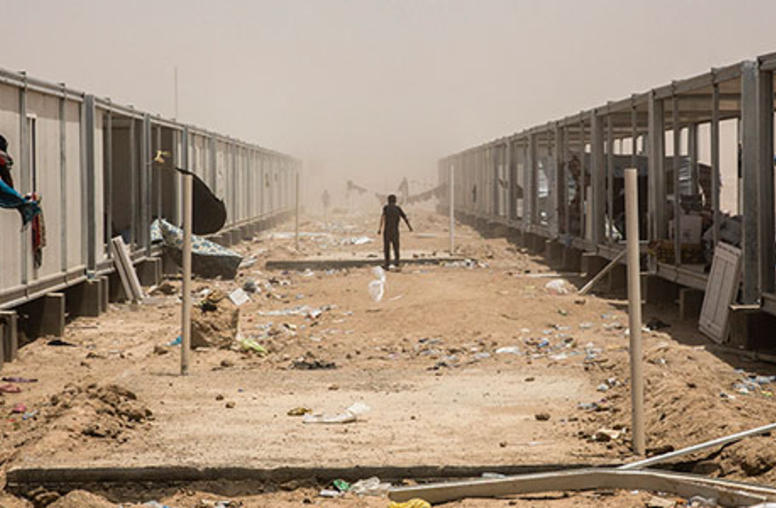 For Iraq's ISIS Targets, Urgent Need for Aid and Security