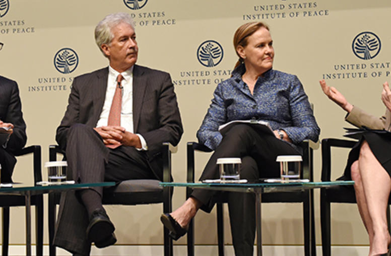 Burns, Flournoy, Lindborg Press Urgency of Fragile States