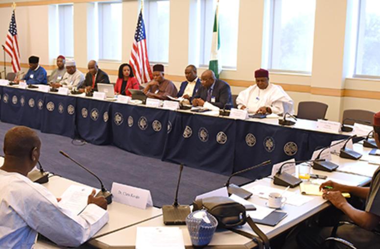 Nigerian Governors on Ways to Halt Crises, Boko Haram