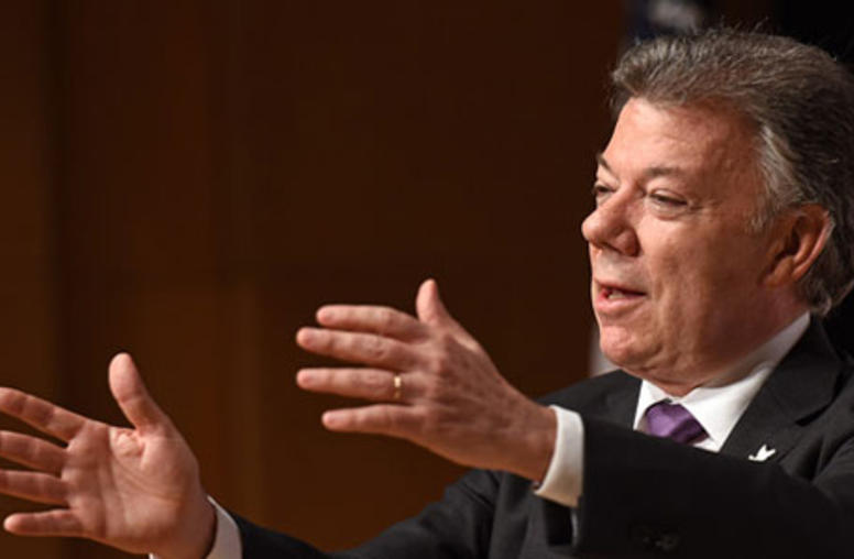 Nobel Prize for Colombian President Highlights Resolve for Peace