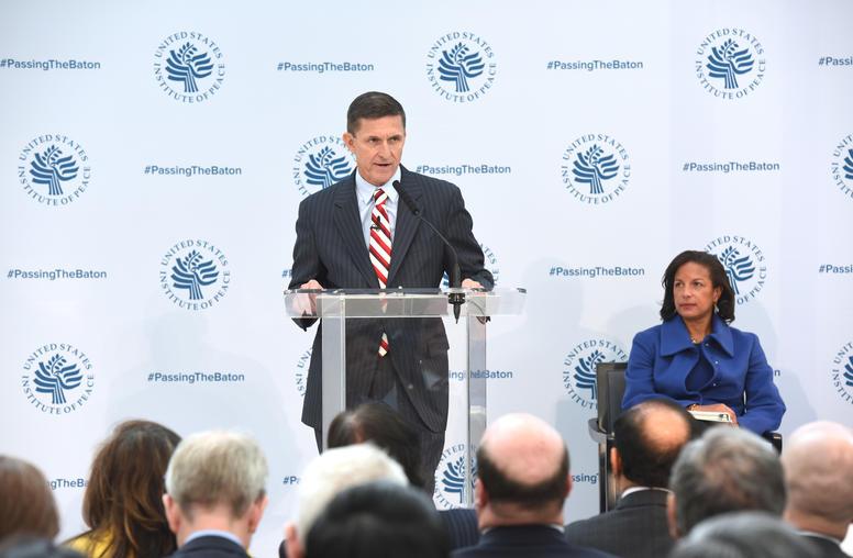 Flynn Thanks Rice, Affirms Value of U.S. Allies