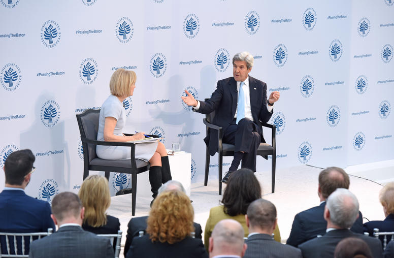 Secretary Kerry Defends Obama Foreign Policy