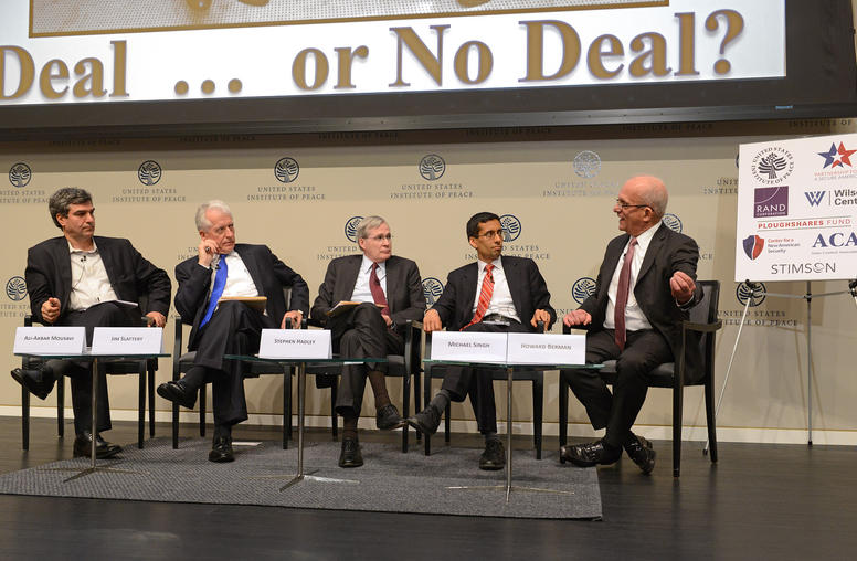 Politics of a Nuclear Deal: Former U.S. & Iranian Officials Debate