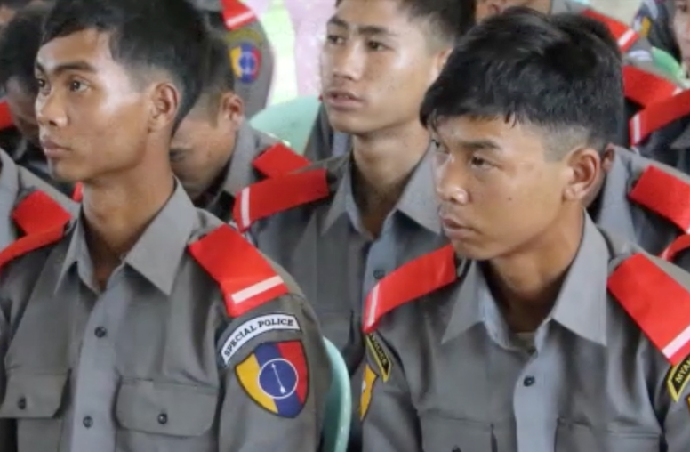 Policing for Peace (P4P) in Myanmar