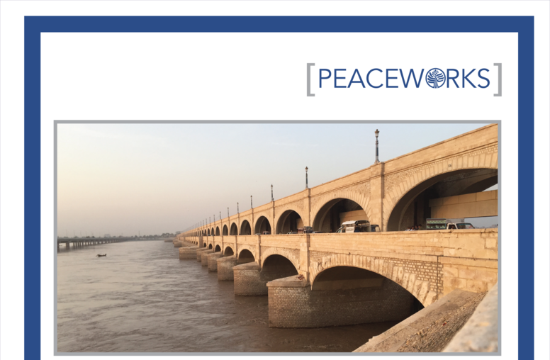 Contested Waters: Subnational Scale Water Conflict in Pakistan