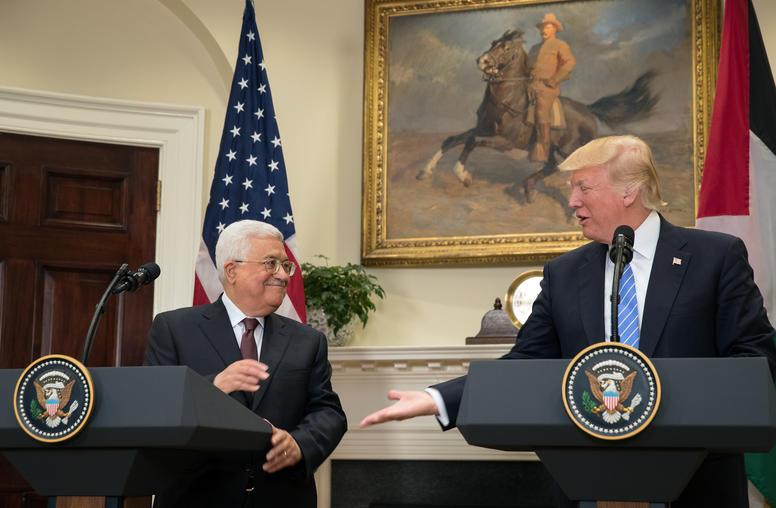 Trump, Abbas Offer Few Details for 'Toughest Deal'