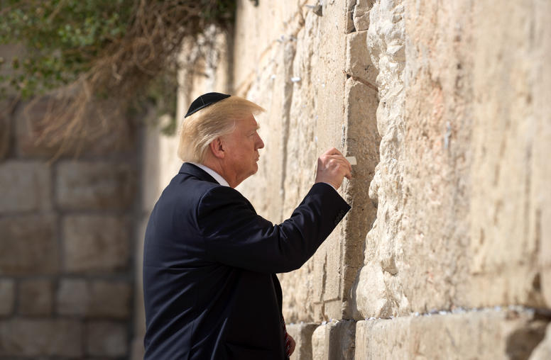 Trump Highlights Religion in Israeli-Palestinian Conflict