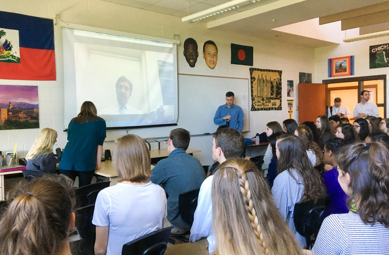 N. Carolina Students Connect with Ex-Secretary of State