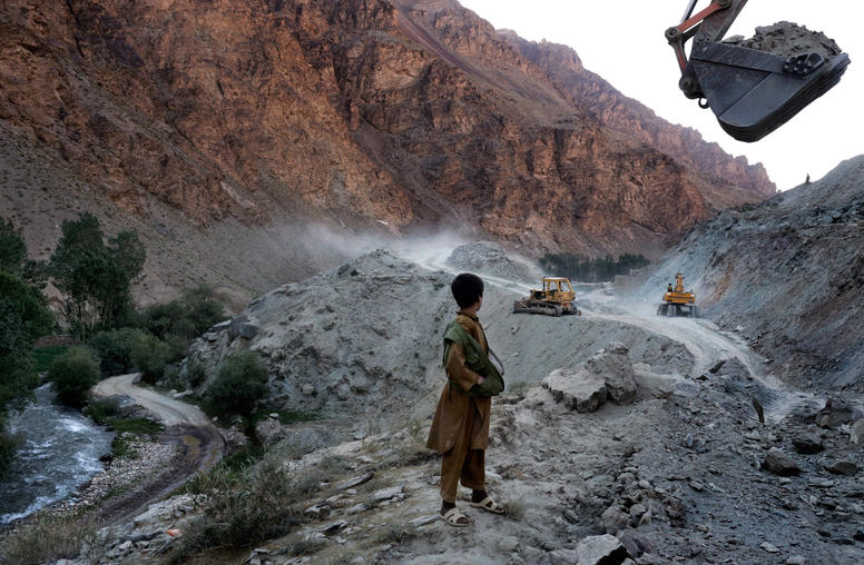 Industrial-Scale Looting of Afghanistan's Mineral Resources