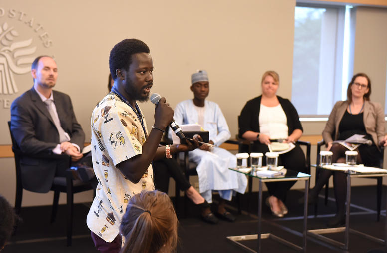 Expanding the Role of Youth in Building Peace, Security