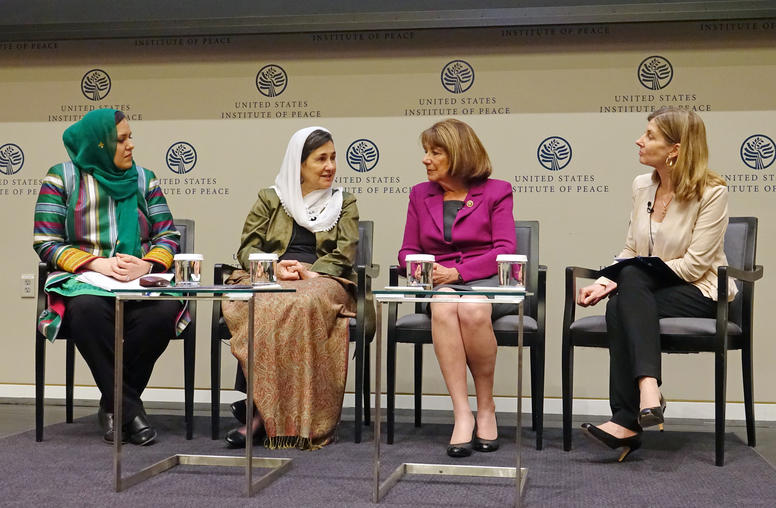 Afghan Women Step Up in Local, National Taliban Talks