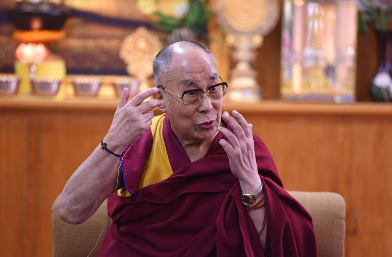 The Dalai Lama: 'Sometimes I cry.'