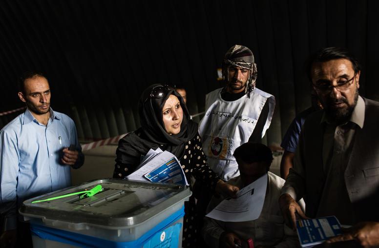 Reducing Voter Fraud in Afghanistan