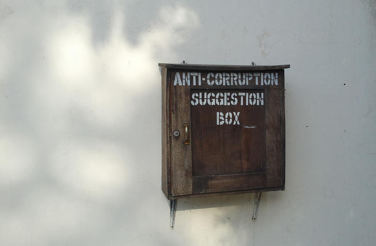 Effectively Fighting Corruption Without Violence