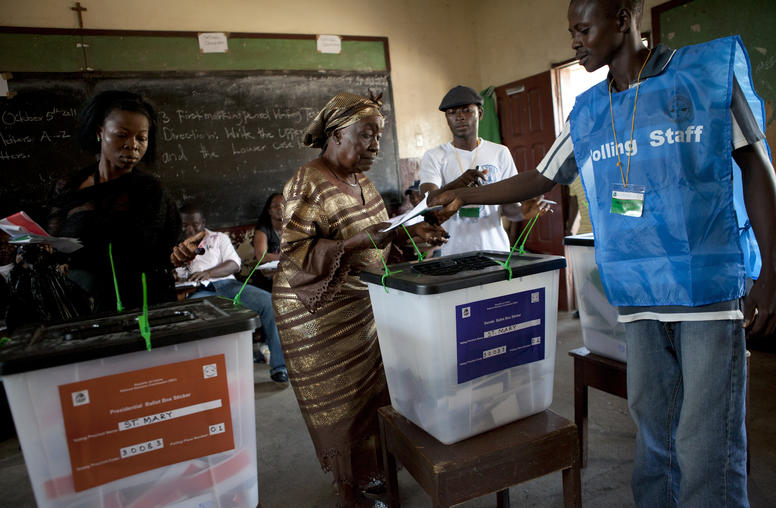 Electing Peace in Liberia