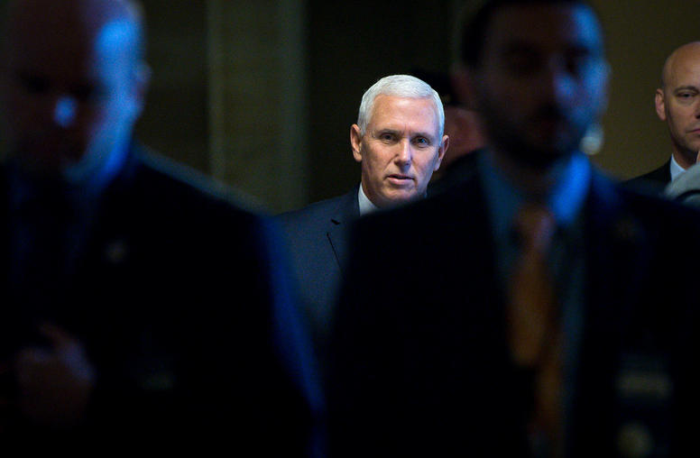As Vice President Pence Visits the Middle East, Hopes for Diplomacy Languish