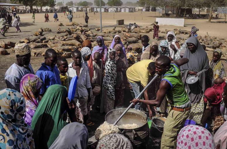 Trump Meets Nigeria's Buhari Amid Lake Chad Crisis