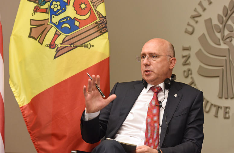A Conversation with the Prime Minister of the Republic of Moldova