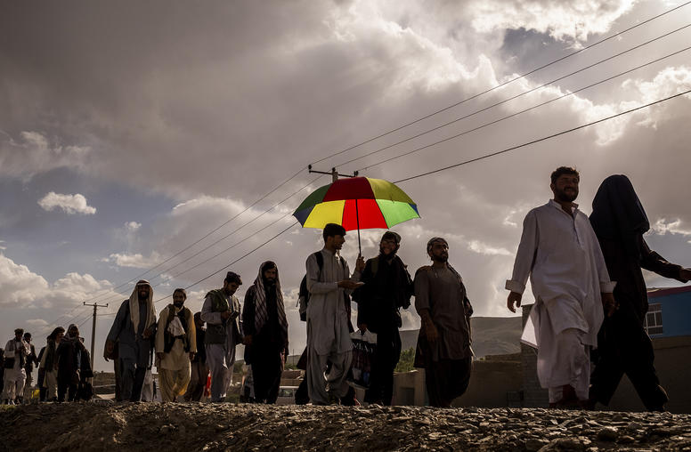War-Weary Afghans March for Peace