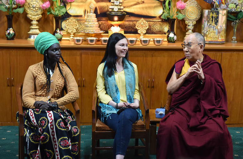 SIP Youth Leaders Exchange with His Holiness the Dalai Lama