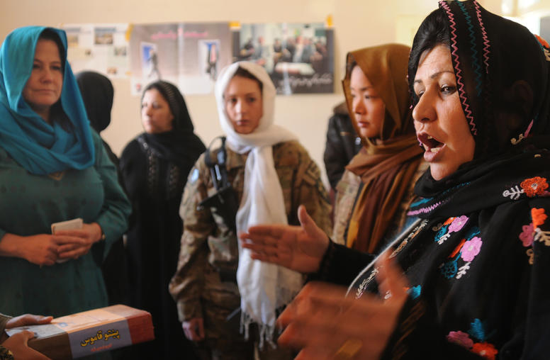 For the Afghan Peace Process to Work, Women Must be Involved