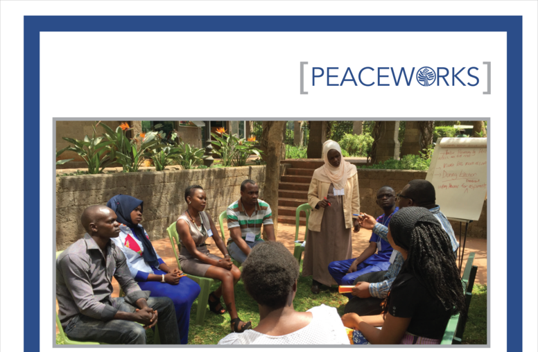 Participatory Action Research for Advancing Youth-Led Peacebuilding in Kenya