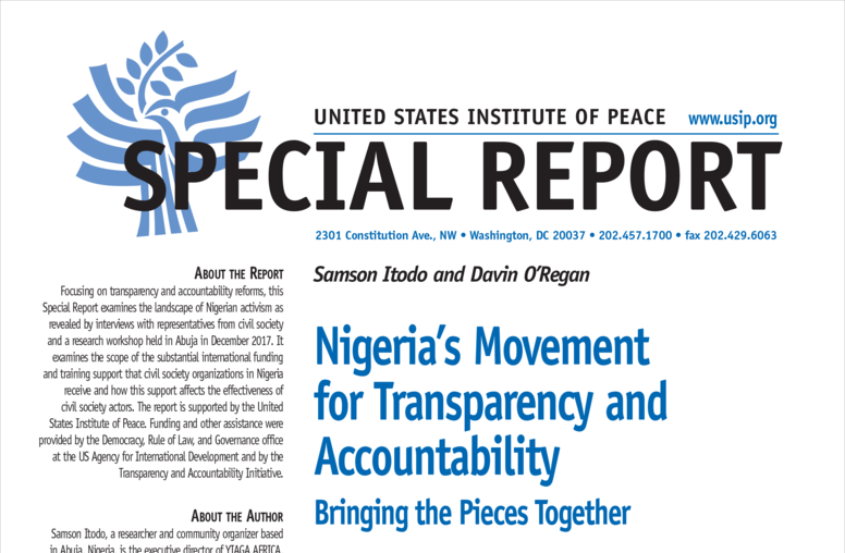 Nigeria's Movement for Transparency and Accountability