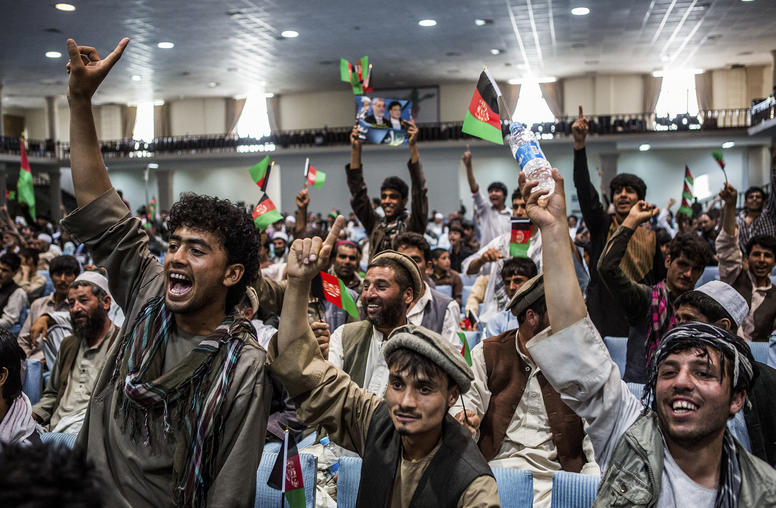 Afghan Voters Exhibit Enthusiasm Despite Election Flaws