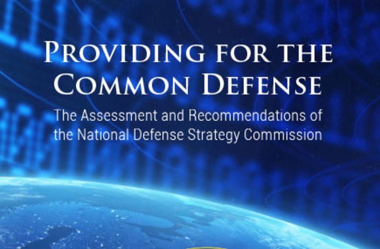 National Defense Strategy Commission Releases Its Review of 2018 National Defense Strategy