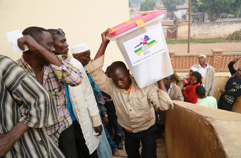 What is the Central African Republic's Divided Parliament For?