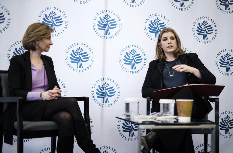 U.K. Secretary Talks History, Equality on International Women's Day