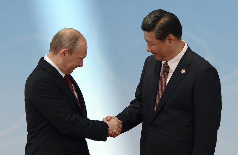 In Global Hotspots, China and Russia are Stepping Up Coordination