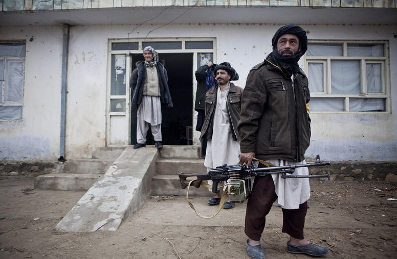 To Build Peace, Afghans Revive an Old Definition of Manhood