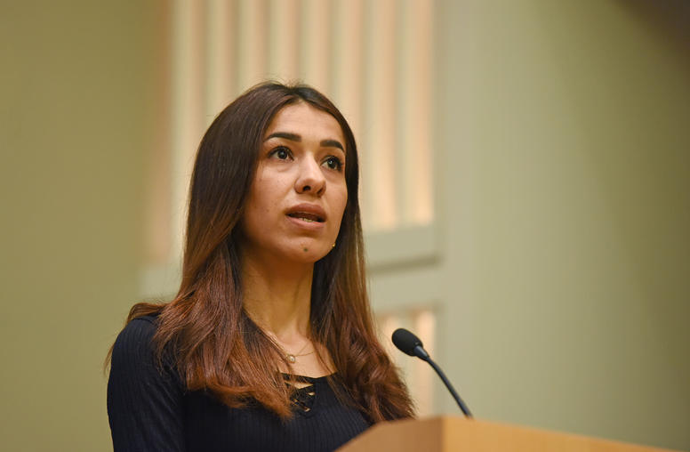 Nobel Laureate Nadia Murad Appeals for Aid to Save Yazidi Society