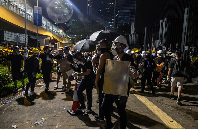 Hong Kong's Turn to Violence Divides the Movement