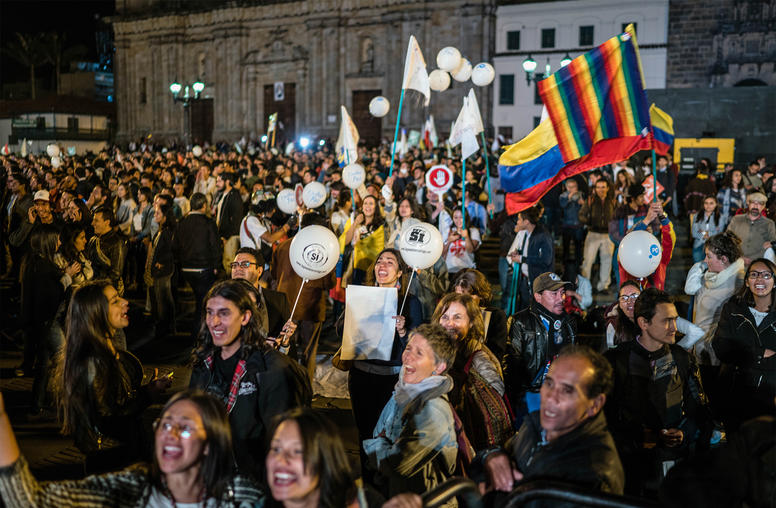 Colombia's New Citizen Movement for Peace