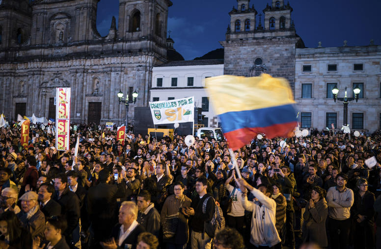 Colombians Rally Online in New Movement for Peace