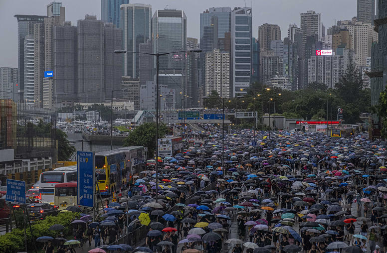 Despite Beijing's Threats, Hong Kong Protesters Remain Unbowed