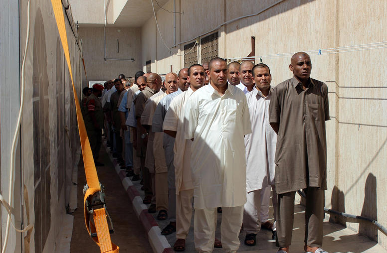 Managing the Secure Release of Sensitive Detainees in Libya